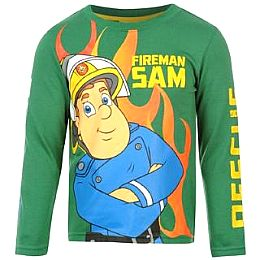 Купить Fireman Sam Sam Long Sleeved Infants Tshirt 700.00 за рублей