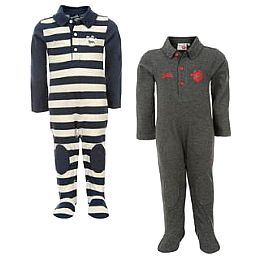 Купить Lonsdale 2 Pack Romper Suits Infants 1700.00 за рублей