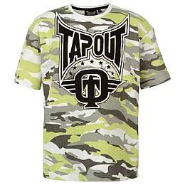 Купить Tapout Camouflage T Shirt Junior Boys 800.00 за рублей