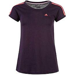 Купить adidas Essential 3 Stripe T Shirt Ladies 1950.00 за рублей