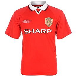 Купить Score Draw Manchester United 1999 Champions League Final Shirt 2550.00 за рублей