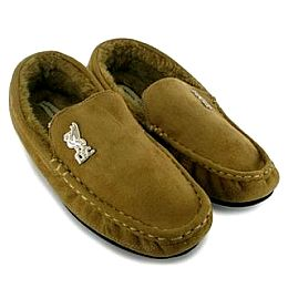 Купить Bafiz Faux Moccasin Football Slippers Mens 800.00 за рублей