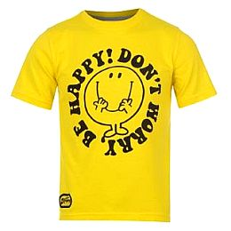 Купить Mr Men Men Print T Shirt Junior 700.00 за рублей