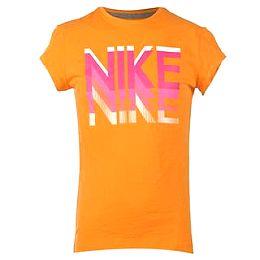 Купить Nike Print Capped Sleeve T Shirt Girls 1600.00 за рублей