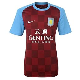 Купить Nike Aston Villa Home Shirt 2011 2012 1700.00 за рублей