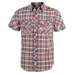Купить Hardcore Short Sleeve Check Shirt Mens 1800.00 за рублей