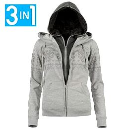 Купить Voodoo Dolls 3 in 1 Hoody Ladies 2200.00 за рублей