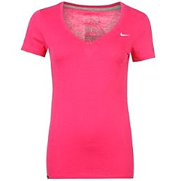 Купить Nike Swoosh V Neck T Shirt Ladies 1950.00 за рублей