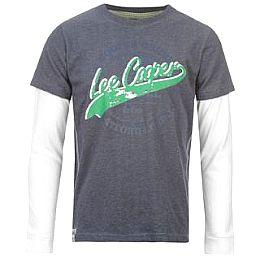 Купить Lee Cooper Mock Layer Long Sleeve T Shirt Junior 800.00 за рублей