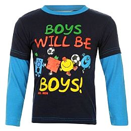 Купить Mr Men Tee Long Sleeved T Shirt Infants 700.00 за рублей