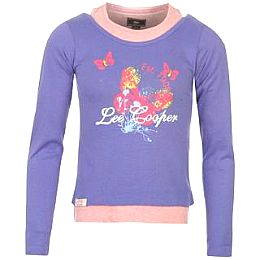Купить Lee Cooper Long Sleeve Mock Layer T Shirt Girls 800.00 за рублей