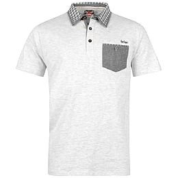 Купить Lee Cooper Check Collar Polo Shirt Mens 1750.00 за рублей