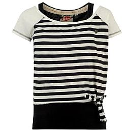 Купить Lee Cooper Stripe Double Layer T Shirt Ladies 1650.00 за рублей