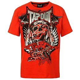 Купить Tapout Skull T Shirt Junior Boys 800.00 за рублей