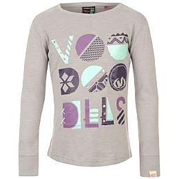 Купить Voodoo Dolls Large Logo Long Sleeve Slub T Shirt 800.00 за рублей