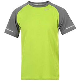 Купить Nike Miler Short Sleeve T Shirt Boys 1750.00 за рублей