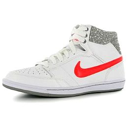 Купить Nike Double Team Leather Ladies Hi Top Trainers 3600.00 за рублей