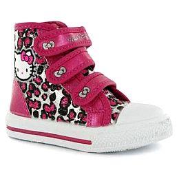 Купить Hello Kitty Kitty Canvas Hi Infant Girls Trainers 2000.00 за рублей
