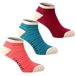 Купить Firetrap 3 Pack Trainer Socks Ladies 800.00 за рублей