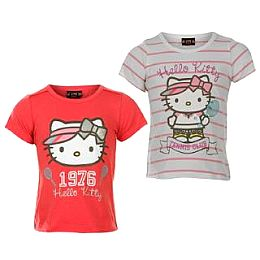 Купить Hello Kitty Kitty 2 Pack T Shirts Infants Girls 1700.00 за рублей