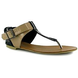 Купить Golddigga Patent Ladies Toe Post Sandals 1900.00 за рублей