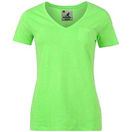 Купить Kangol V Neck Neon T Shirt Ladies 1700.00 за рублей