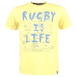 Купить Rhino Rugby Short Sleeve T Shirt Mens 1800.00 за рублей