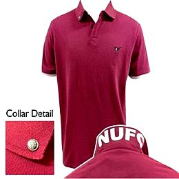 Купить NUFC Print Collar Pique Polo Shirt Mens 2050.00 за рублей