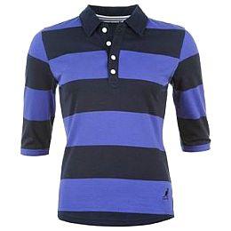 Купить Kangol Long Sleeve Stripe Polo Shirt Ladies 1650.00 за рублей
