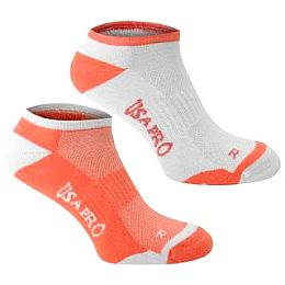 Купить USA Pro Pro 2 Pack No Show Socks Ladies 700.00 за рублей