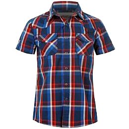Купить Lee Cooper Short Sleeve Checked Shirt Junior 1650.00 за рублей