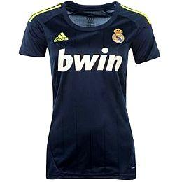 Купить adidas Real Madrid Away Shirt 2012 2013 Ladies 2550.00 за рублей