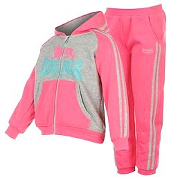 Купить Lonsdale 2 Stripe Lin Jogger Suit Infant Girls 1850.00 за рублей