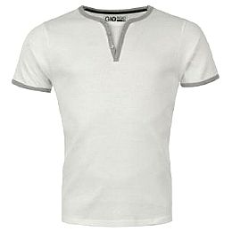 Купить Giorgio Mock Notch T Shirt Mens 800.00 за рублей