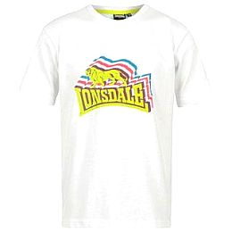 Купить Lonsdale Stacked Logo T Shirt Junior 800.00 за рублей