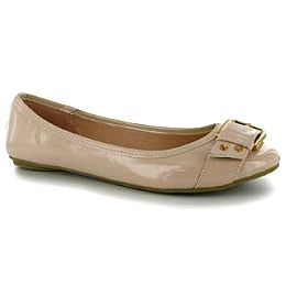 Купить Golddigga Buckle Ladies Ballet Pumps 1800.00 за рублей
