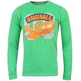 Купить Lee Cooper Peached Long Sleeved Tshirt Boys 800.00 за рублей