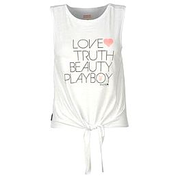 Купить Playboy Tie Front Vest Ladies 750.00 за рублей