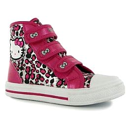 Купить Hello Kitty Kitty Canvas Childrens Hi Top Trainers 2000.00 за рублей