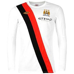 Купить Umbro Manchester City Away Shirt 2009 2010 LS 2550.00 за рублей