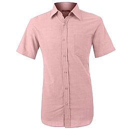 Купить Ricci Short Sleeved Oxford Shirt Mens 800.00 за рублей