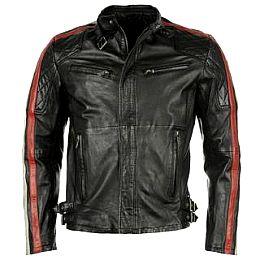 Купить Firetrap Manx Leather Jacket Mens 6700.00 за рублей