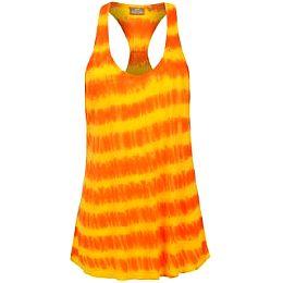 Купить Miss Fiori Tie Dye Racerback Vest Ladies 800.00 за рублей
