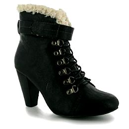 Купить Spot On Fur Trim Ladies Boots 2200.00 за рублей