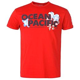 Купить Ocean Pacific Pacific Tropicana T Shirt Mens 1600.00 за рублей