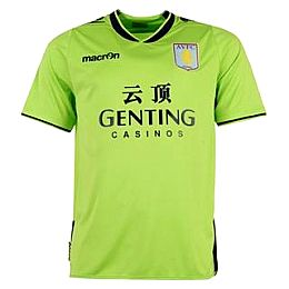 Купить Macron Aston Villa Away Shirt 2012 2013 Mens 1800.00 за рублей