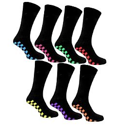 Купить Kangol 7 Pack Check Foot Socks Mens 1650.00 за рублей