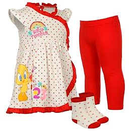 Купить Looney Tunes 3 Piece Set Baby Girls 1700.00 за рублей