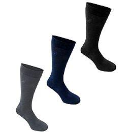 Купить Kangol 3 Pack Formal Socks Mens 750.00 за рублей