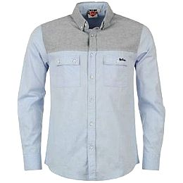 Купить Lee Cooper Contrasting Panel Shirt Mens 2050.00 за рублей